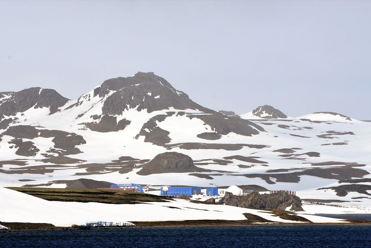 China's Great Wall Station on King George Island, Antarctica