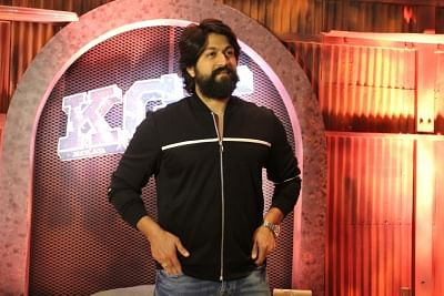 Actor Yash. (Photo: IANS)