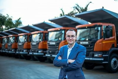 Scania India head Petr Novotny. (File Photo: IANS)
