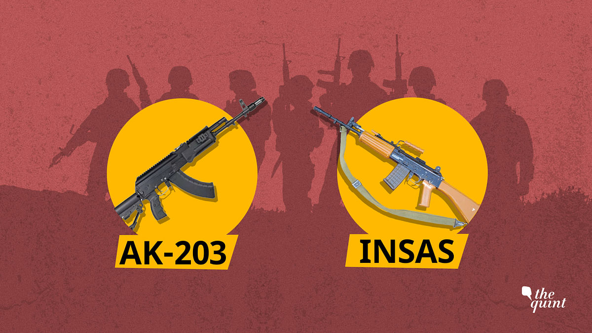 The AK-203 assault rifle will soon be manufactured in Amethi.