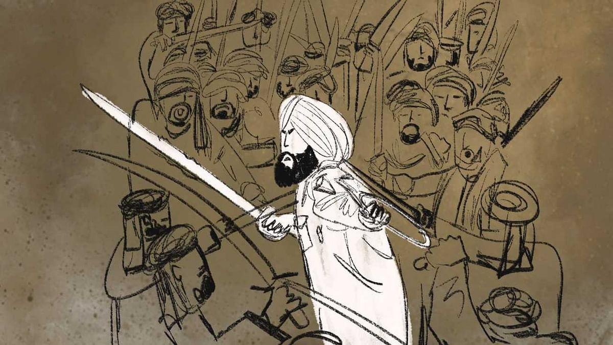 Legend has it that Gurumukh Singh killed 20 enemies before they set him on fire.