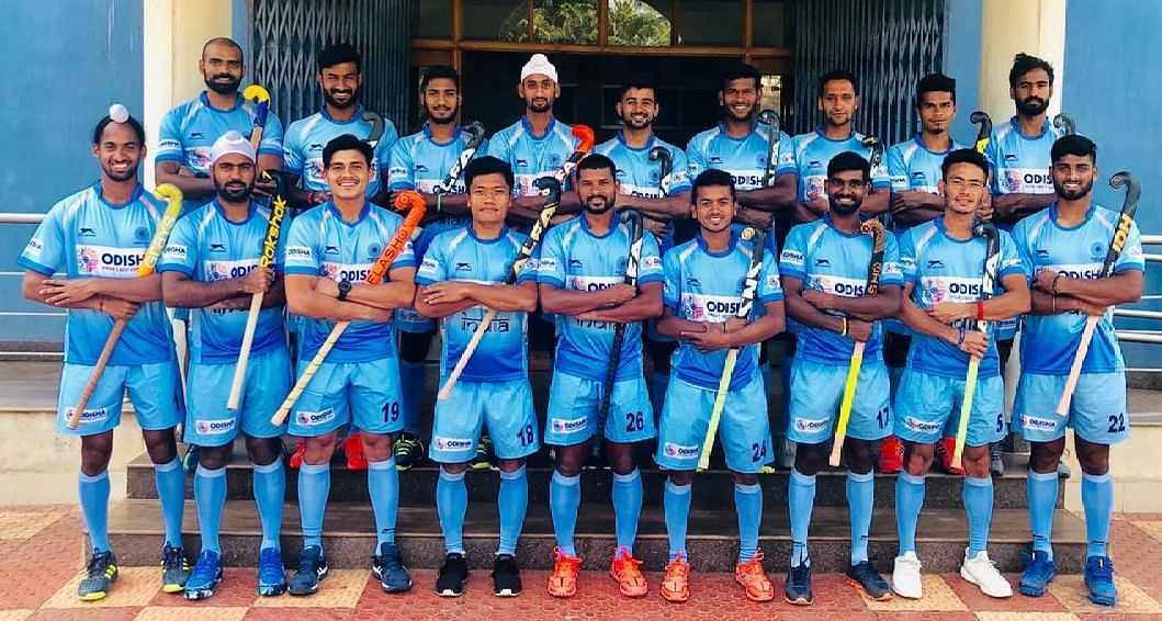 Indian men's hockey team for the 2019 Sultan Azlan Shah Cup.
