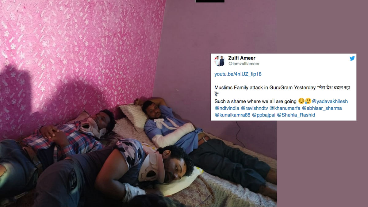 Twitter Slams 'Chowkidar' Over Attack on Muslim Family in Gurugram