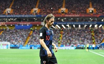 Luka Modric. (Xinhua/Lui Siu Wai/IANS)