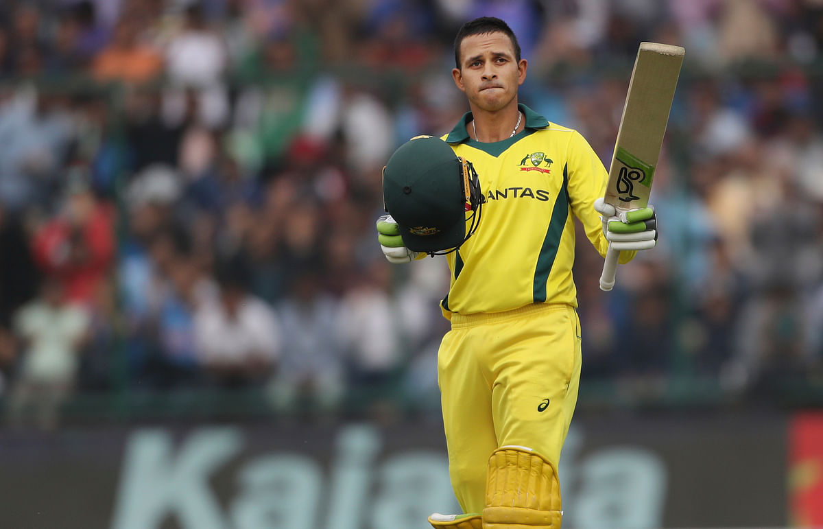 Usman Khawaja played a starring role for the third game running, hitting 100 in Australia's win over India in the series-decider at New Delhi.