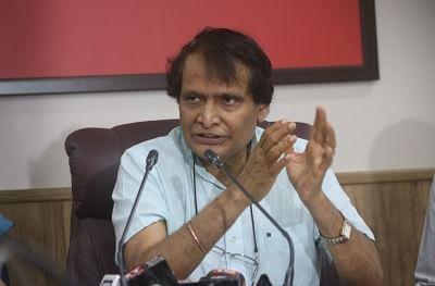 Suresh Prabhakar Prabhu. (File Photo: IANS)