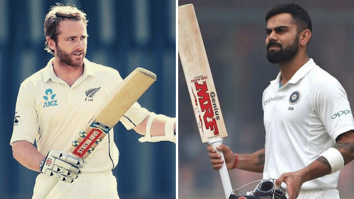 Kane Williamson (left) has reached a career-best 915 rating points and narrowed the gap with the table-topper India skipper Virat Kohli (922 points).