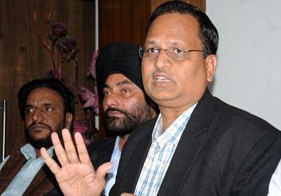 Satyendra Jain. (File Photo: IANS)
