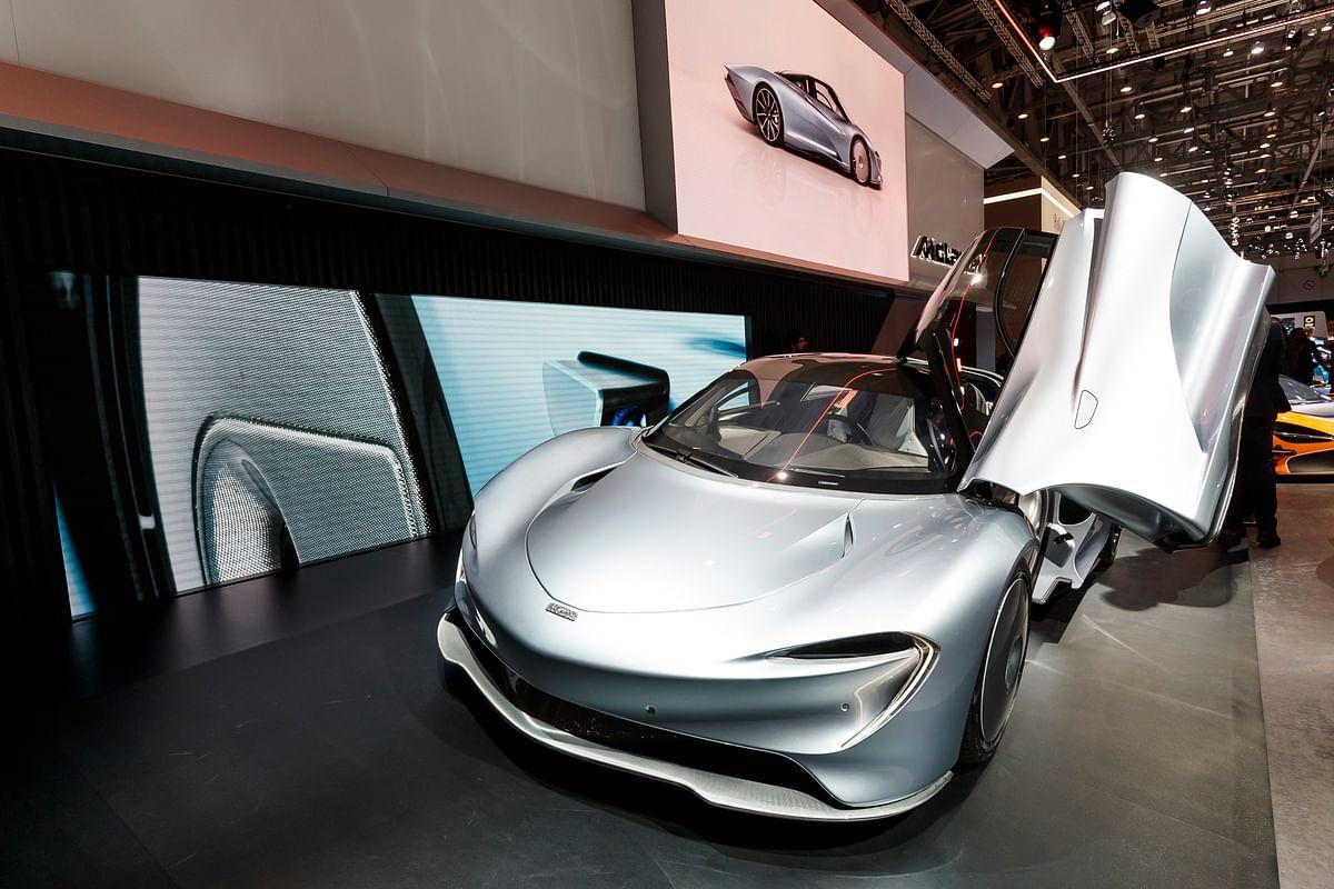 McLaren 'Speedtail' Concept Car