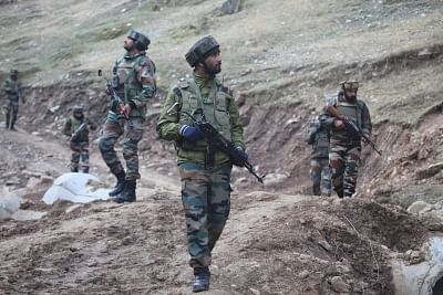 Baramulla: Security beefed up near Line of Control (LoC) in Churanda village of Jammu and Kashmir