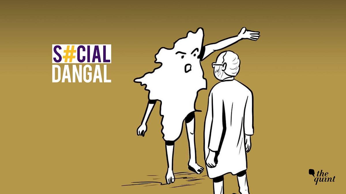 #GoBackSadistModi Trends, PM Slammed For Trying 'Gimmicks' In TN