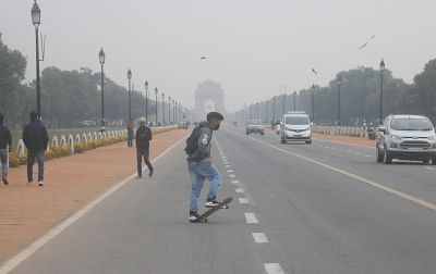 New Delhi: The capital woke up to a cloudy morning on Feb 12, 2018. According to the weather office, cloudy weather brought the minimum temperature to 13 degrees Celsius, three notches above the season