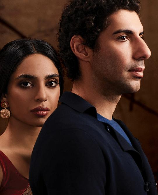Tara, and her husband, Adil (played by Jim Sarbh).