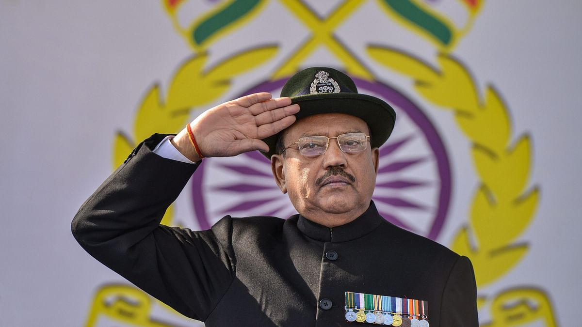 India's National Security Advisor Ajit Doval.