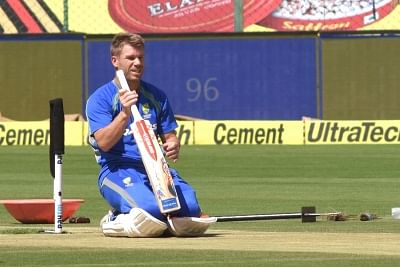 Australian cricketer David Warner missed the first Test against India due to injury.
