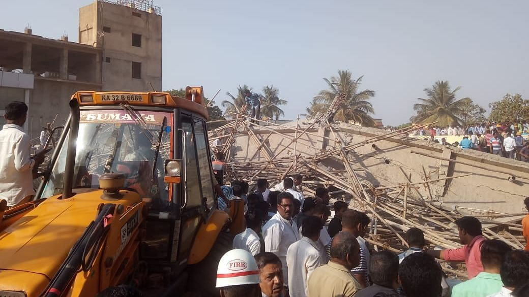 K'taka Building Collapse: Death Toll Rises to 16; 4 Accused Held