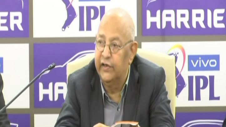The Indian cricket board's acting secretary Amitabh Chaudhary washed his hands off the BCCI letter.