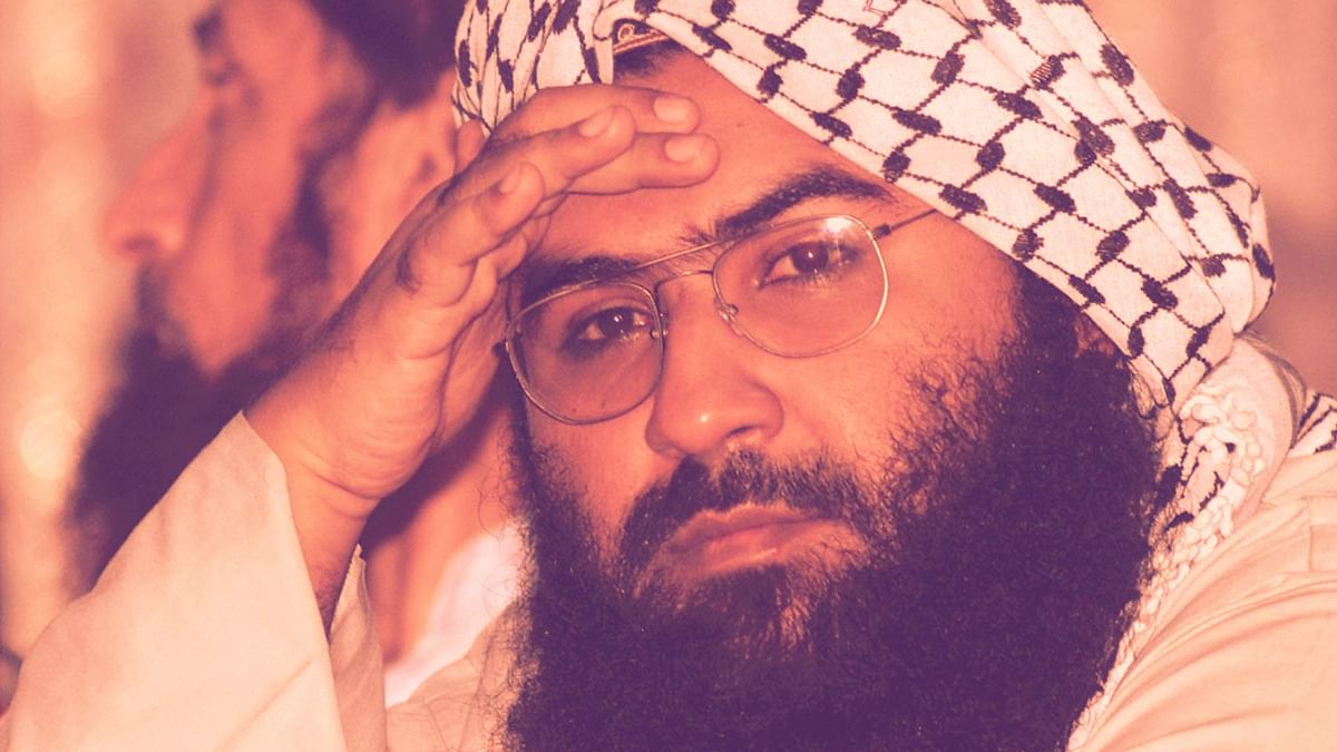 Masood Azhar, Chief of the Jaish-e-Mohammed.