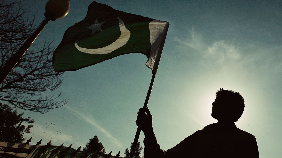 Flag of Pakistan been waved. Image used for representational purpsose.