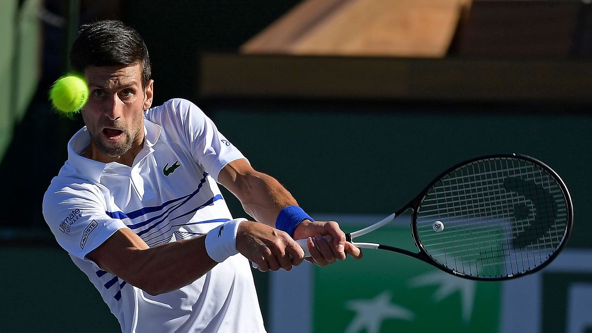 It was a tough day for seeded players at the BNP Paribas Open, with top-ranked Novak Djokovic the biggest name ushered out in the desert.
