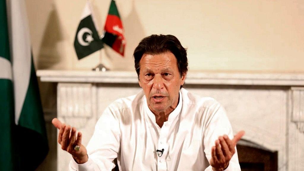 Pakistan's Prime Minister Imran Khan.