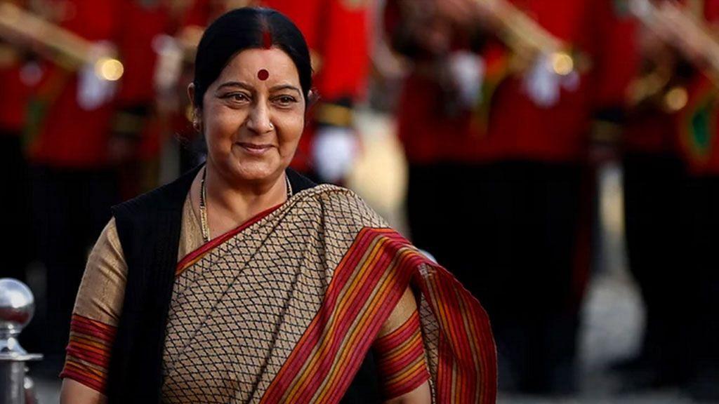 File image of Sushma Swaraj, External Affairs Minister.