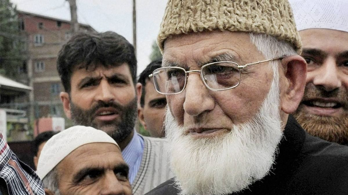 Syed Ali Shah Geelani Resigns From All Party Hurriyat Conference