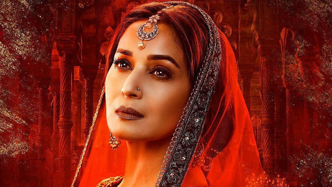 Madhuri Dixit's first look from 'Kalank' revealed.