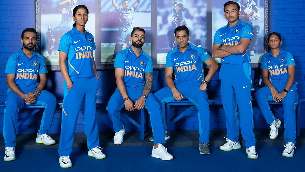 Apart from the innovations, the jersey also sports a number of firsts as far as the design is concerned.