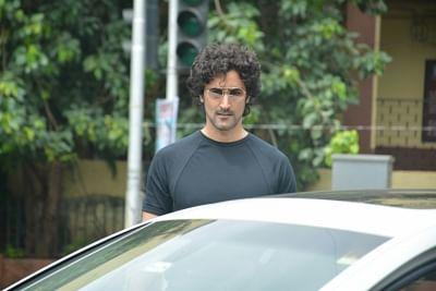 Mumbai: Actor Kunal Kapoor seen at Mumbai