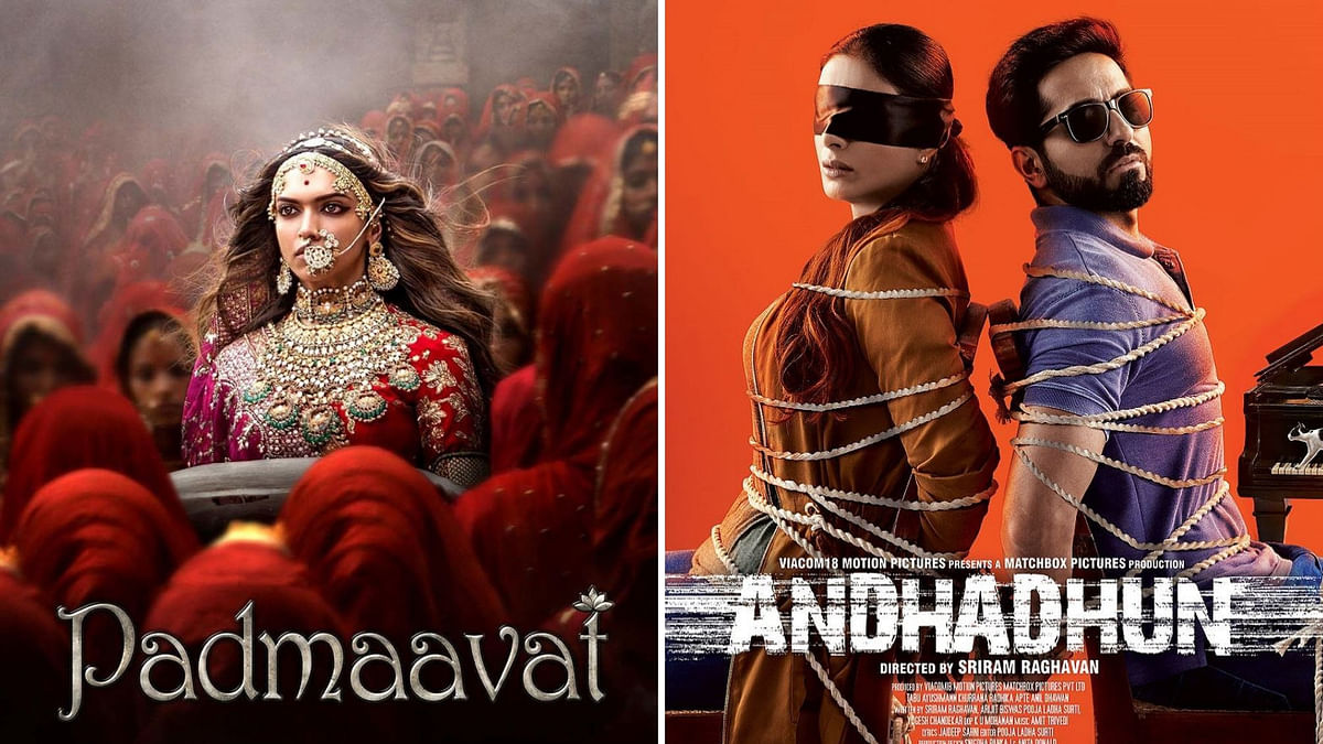 <i>Andhadhun </i>wins for 'Best Editing', <i>Ghoomar (Padmaavat)</i> for 'Best Choreography'