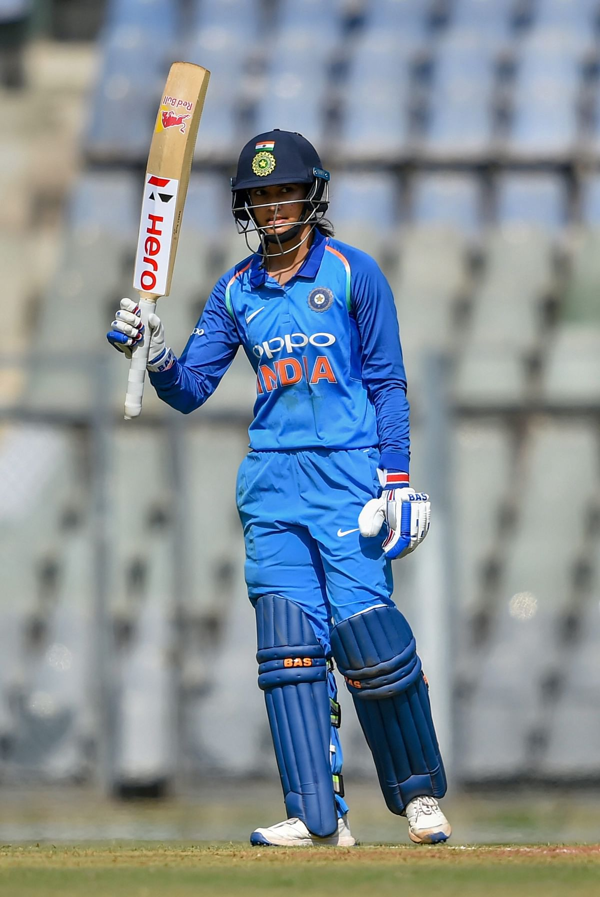 Smriti Mandhana struck two half-centuries during India's 2-1 series win vs England, taking her tally since the start of 2018 to 12 scores of 50+ in 18 innings.
