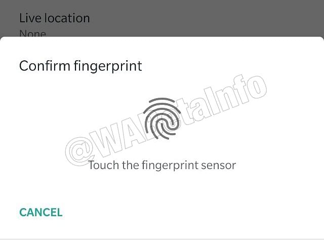 WhatsApp to get fingerprint authentication for Android.