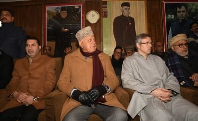 15-Member NC Delegation Meeting Detained Farooq, Omar on Sunday