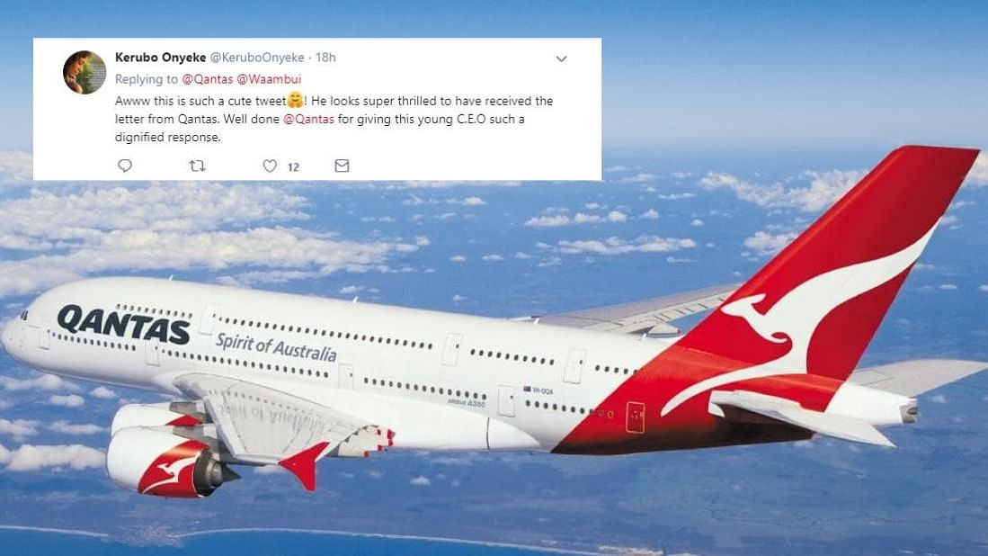 This 10-Year-Old's Letter to Qantas Airlines CEO Means Business