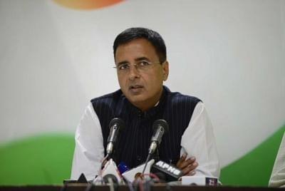 Randeep Singh Surjewala. (File Photo: IANS)