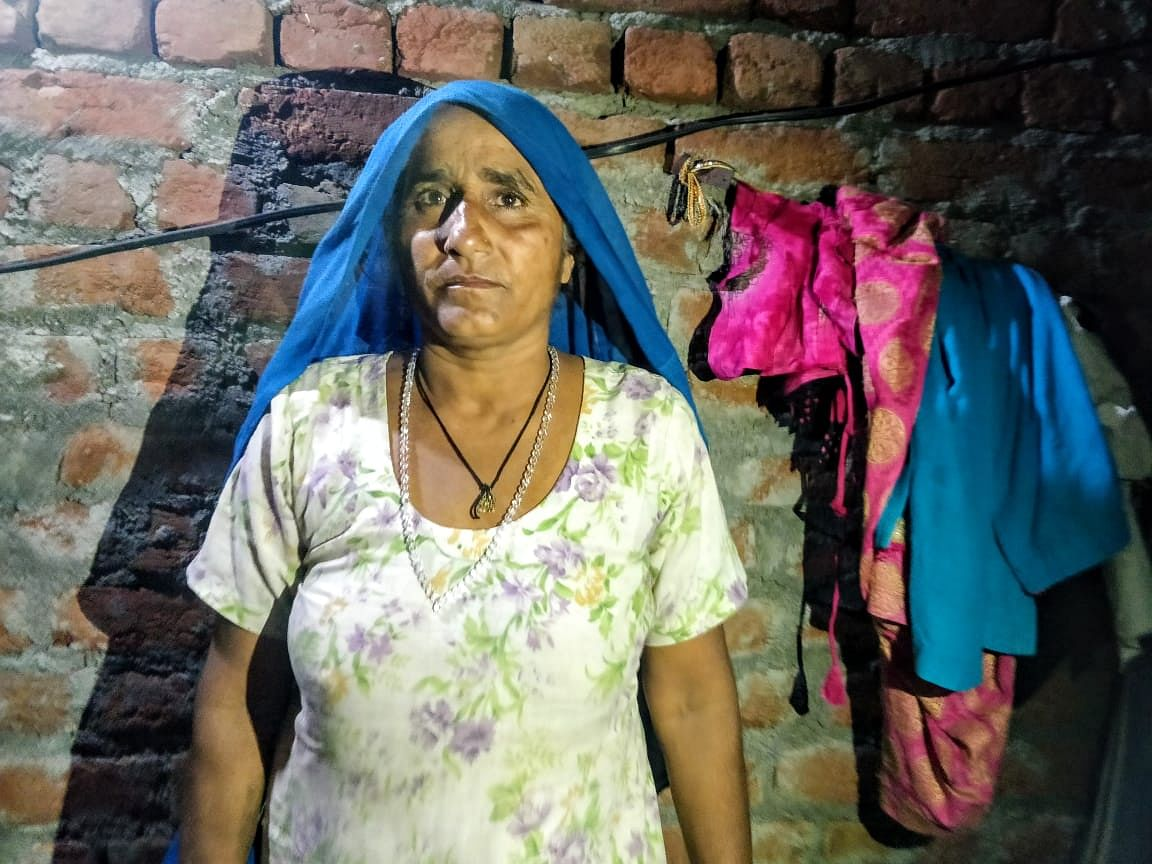 """Mahesh Kumar's mother, Om Pali, is both angry and concerned about her son. """"When will I see him again, do you know? Will they beat him up in the jail?"""" she asks."""