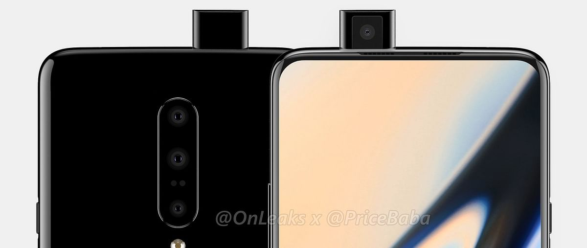 Triple rear cameras on the rumoured OnePlus 7.