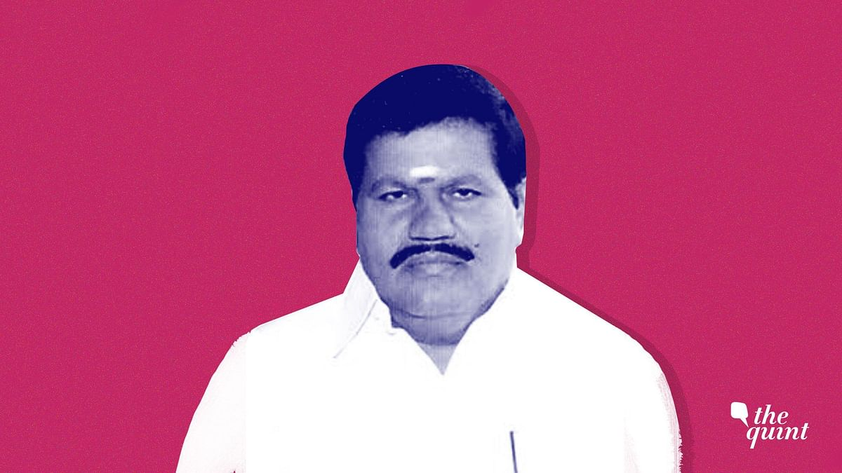 AIADMK MLA Kanagaraj representing Sulur constituency in the Tamil Nadu Assembly, passed away on Thursday.