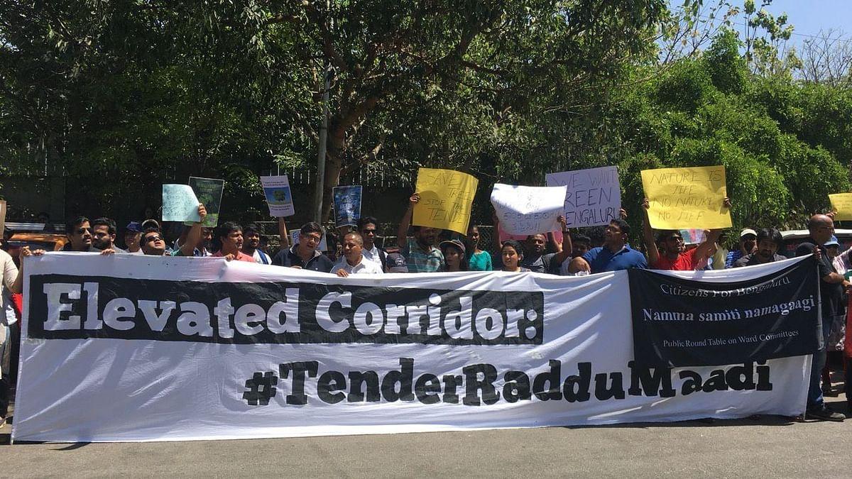 Bengaluru Says No to Elevated Corridor Plan with #TenderRadduMaadi