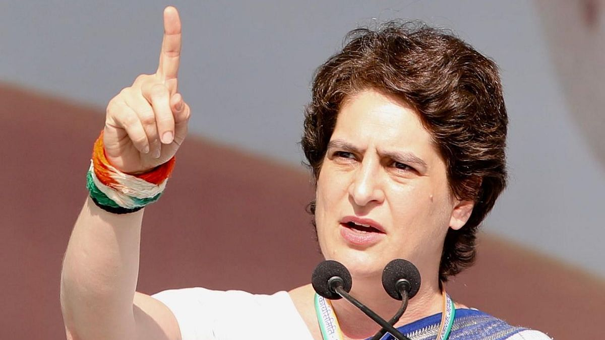 After Maiden Rally Speech, Priyanka Gandhi Tweets for First Time