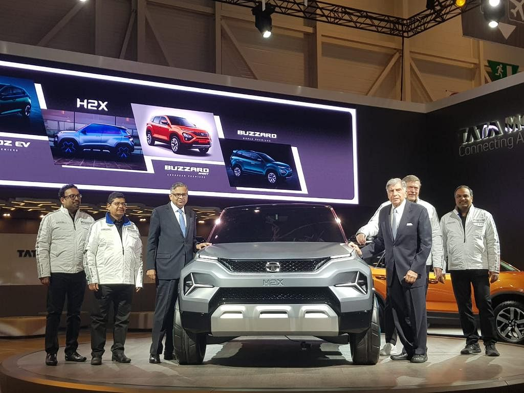 The Tata H2X was the showstopper for Tata at the Geneva International Motor Show 2019.