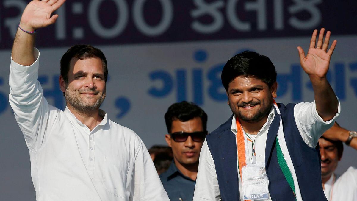 With Praises for Rahul & Attacks on Modi, Hardik Patel Joins Cong