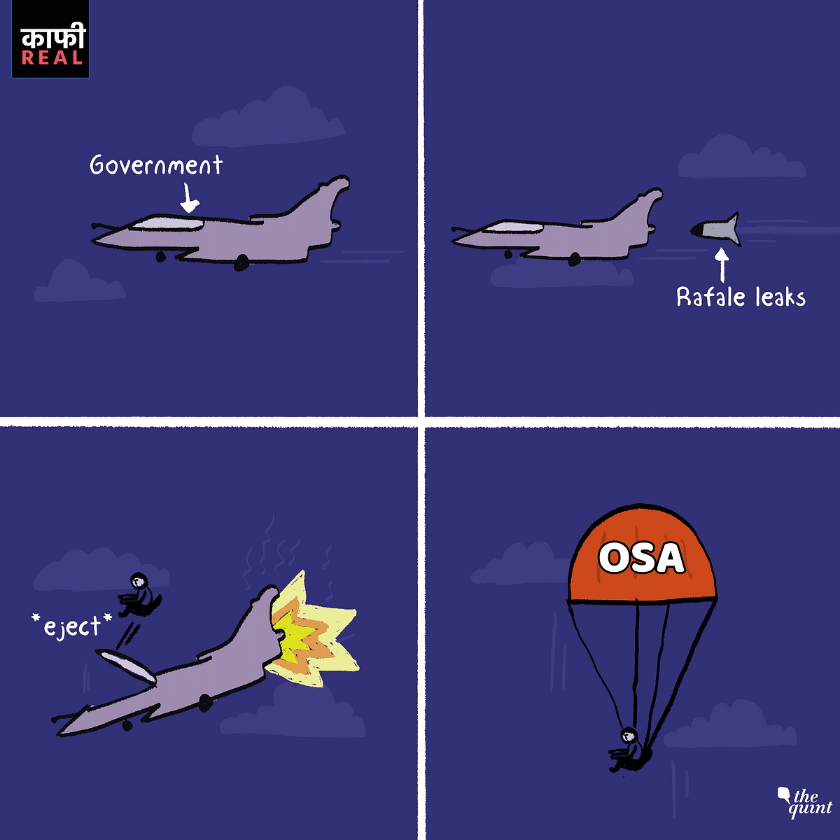 Govt Using OSA as Cover in Rafale Case is Kaafi Real