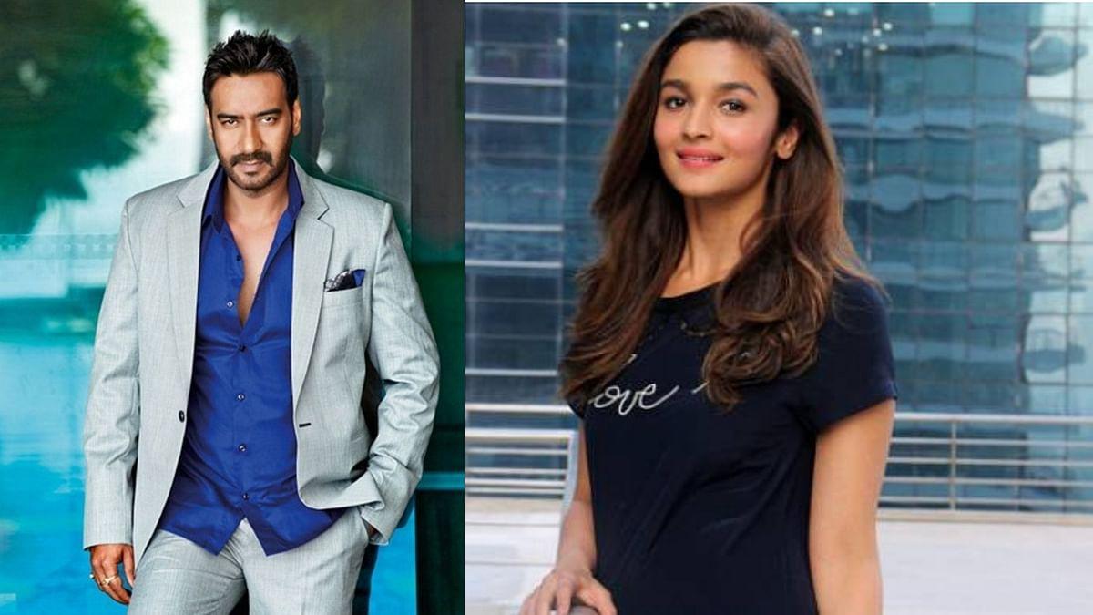 Alia Bhatt, Ajay Devgn Roped in for Rajamouli's 'RRR'
