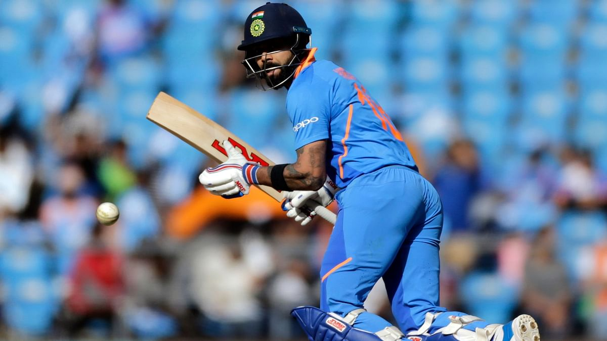During his innings in Napur, Kohli also struck his 1000th four in ODI cricket.