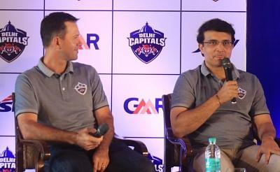 New Delhi: Delhi Capitals advisor Sourav Ganguly accompanied by the team