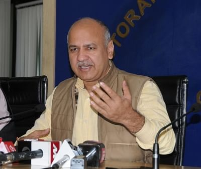 Delhi Deputy Chief Minister Manish Sisodia. (Photo: IANS)
