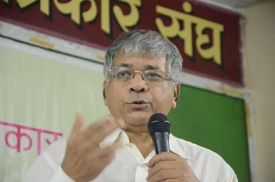Prakash Ambedkar. (Photo: IANS)