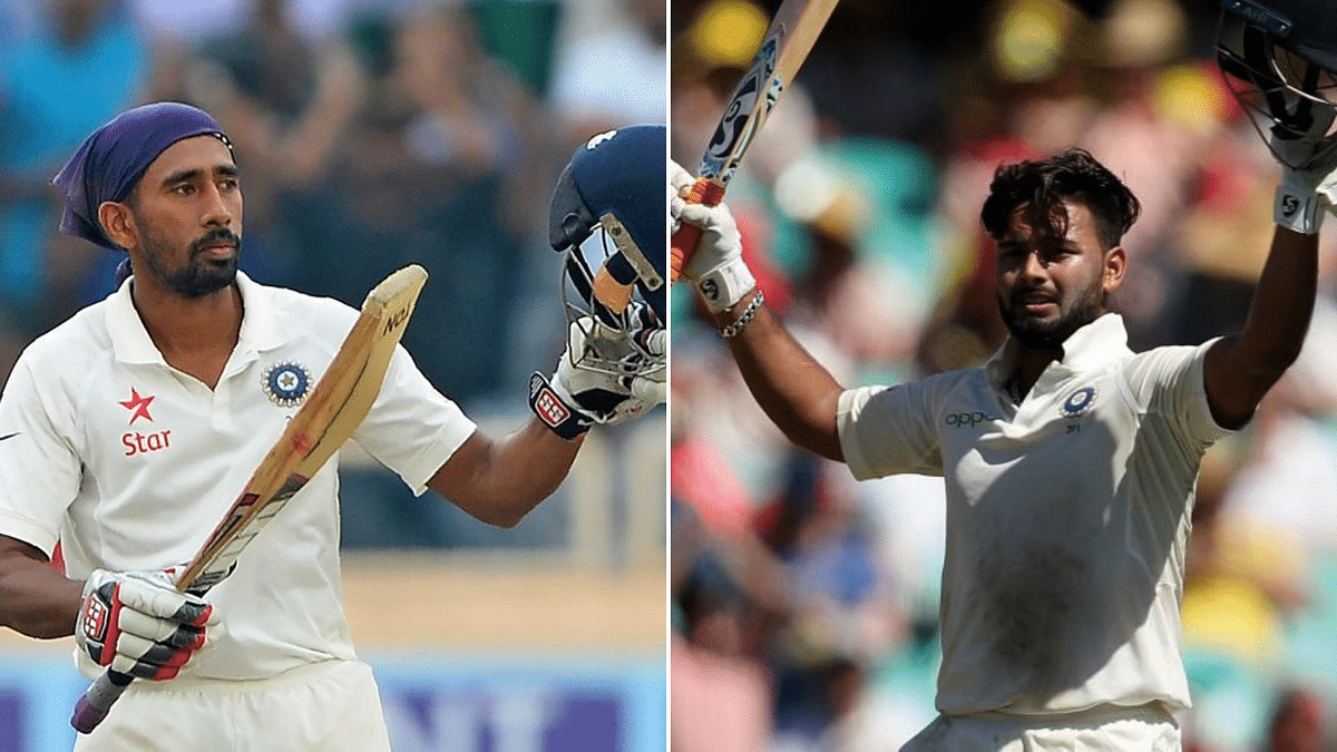 Rishabh Pant has been India's preferred first-choice wicketkeeper in Tests since Wriddhiman Saha's injury.